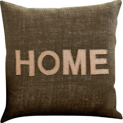 Brayden Studio Woodfin Hot Home Jute Throw Pillow Size: