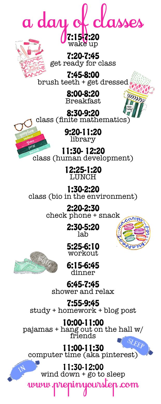 best ideas about college schedule college really like this routine minus getting in bed at 12 but of course