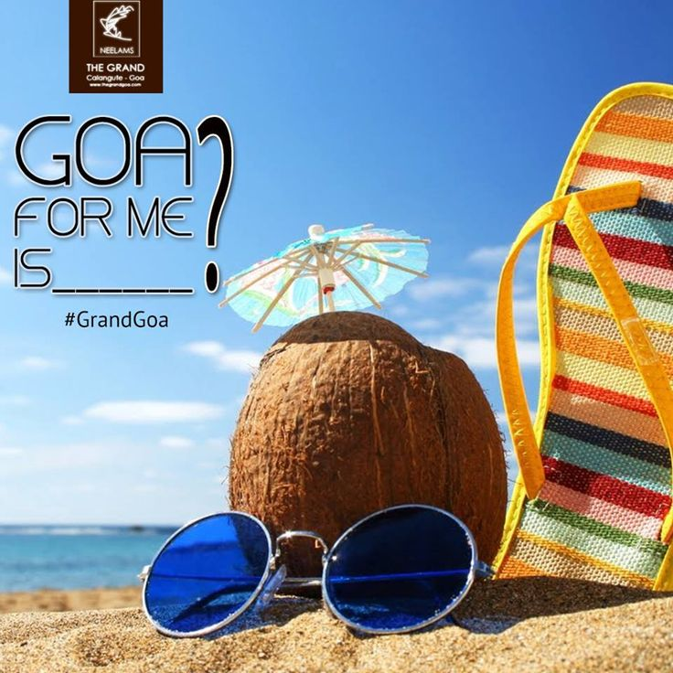 Luxuriate in your Goa swing! Complete the sentence Goa for me is _____. And get a chance to win a wondrous 2 nights & 3 days stay at Neelam's the Grand and The Glitz. Don't forget to #GoaForMe #TheGrand.
