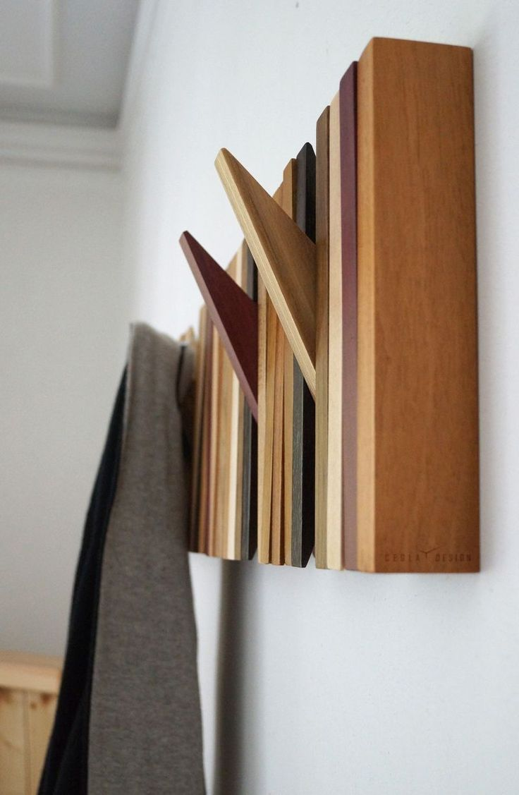 71 Best Wooden Hooks Images On Pinterest Clothes Racks