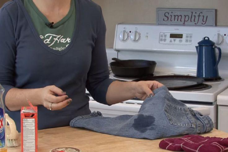 Une super technique pour éliminer les taches d'huile sur les vêtements!