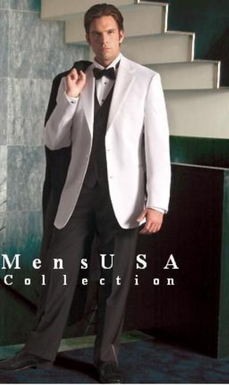Check out white dinner jackets for only US $165. Buy more save more. Buy 3 items get 5% off, Buy 8 items get 10% off.