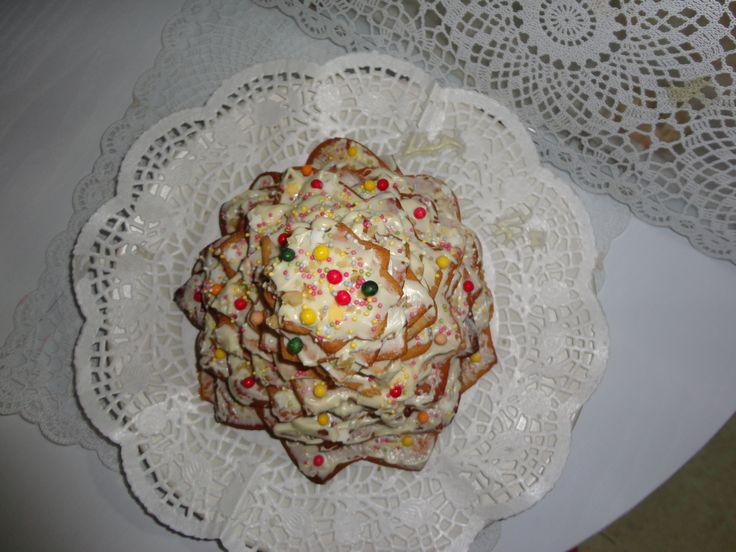 galleta de mantequilla con nueces y chocolate blanco