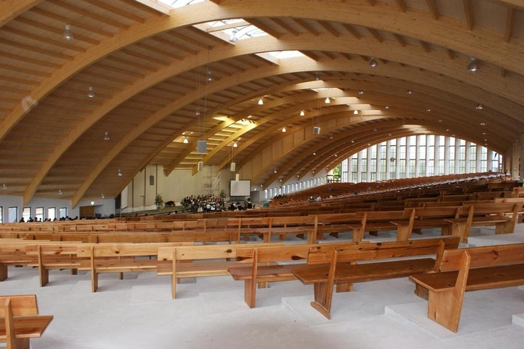 Auditorium at the KwaSizabantu mission, Durban (South Africa)