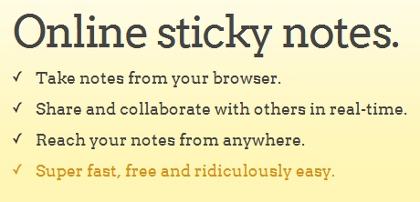 13 free sticky notes apps/sites
