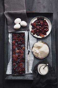 Claudia Gödke | cherry clafoutis