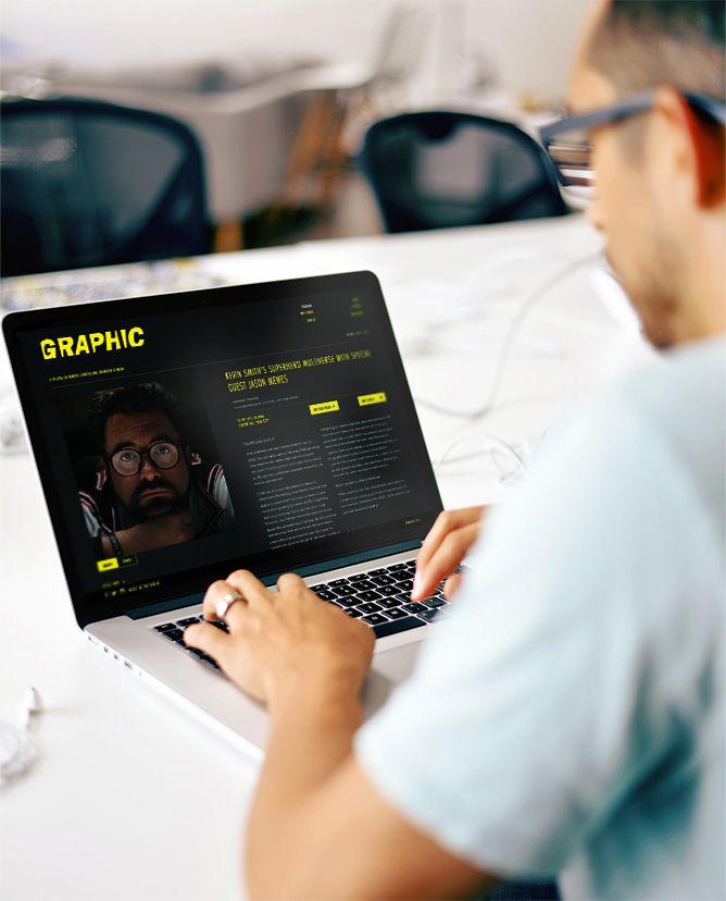 Sydney Opera House:Graphic Festival Website 2015 - Freelance Melbourne Digital Website Designer, UI Designer, Responsive Website Designer Melbourne