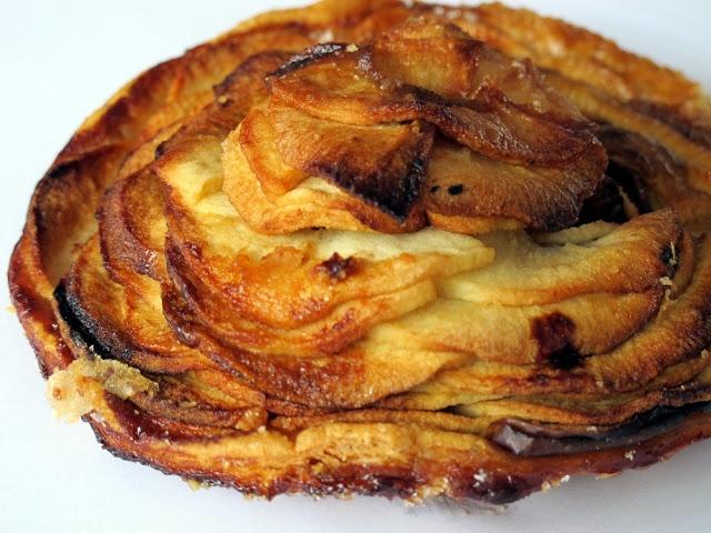 La boulangerie pâtisserie Jean-Paul Charbonnier Tarte fine aux pommes