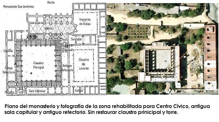 Monasterio de San Jerónimo -  Sevilla