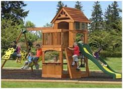 Get a Cedar Playset for Your Favorite Kids at Fifthroom.com