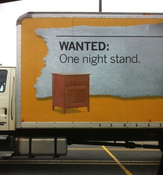 """Wanted: One night stand""  Ikea"