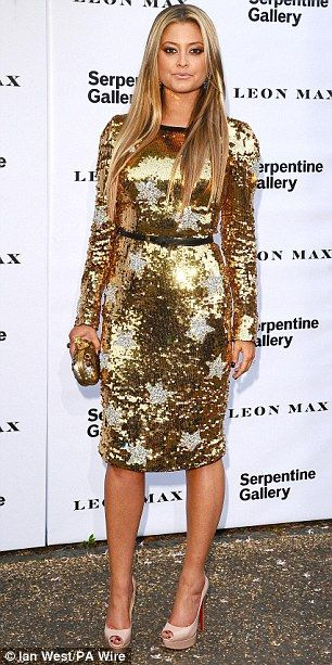 *STYLE CRUSH* Holly Valance leads the fashion pack at the annual Serpentine Gallery summer party in London last night; maybe more suited to a Christmas party look, but we can't deny how good she looks!