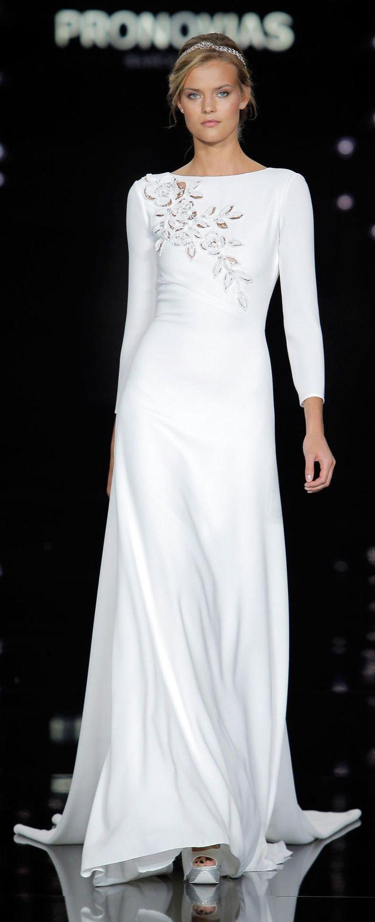 Atelier Pronovias 2017 | https://www.theknot.com/content/atelier-pronovias-wedding-dresses-2017