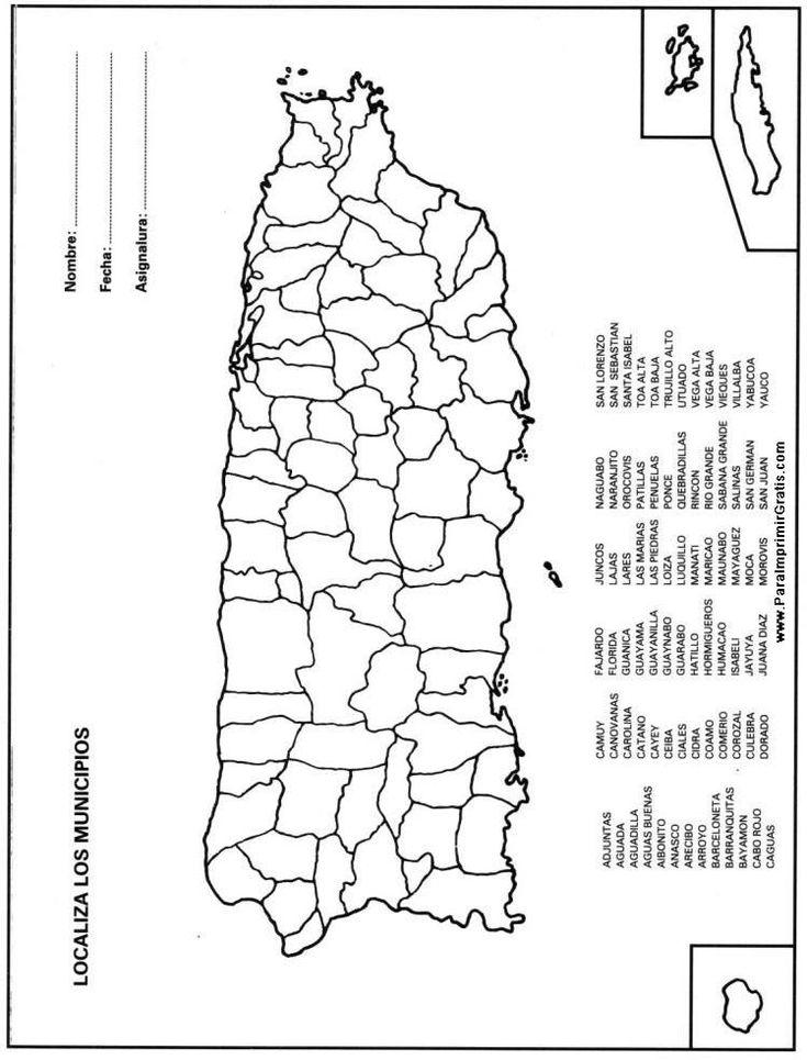 economia do municipio de coloring pages | 1000+ images about Mapa de Puerto Rico on Pinterest ...