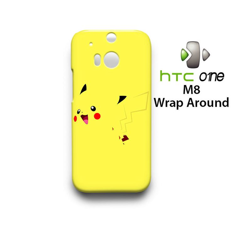 Pokemon Pikachu HTC One M8 Case Cover