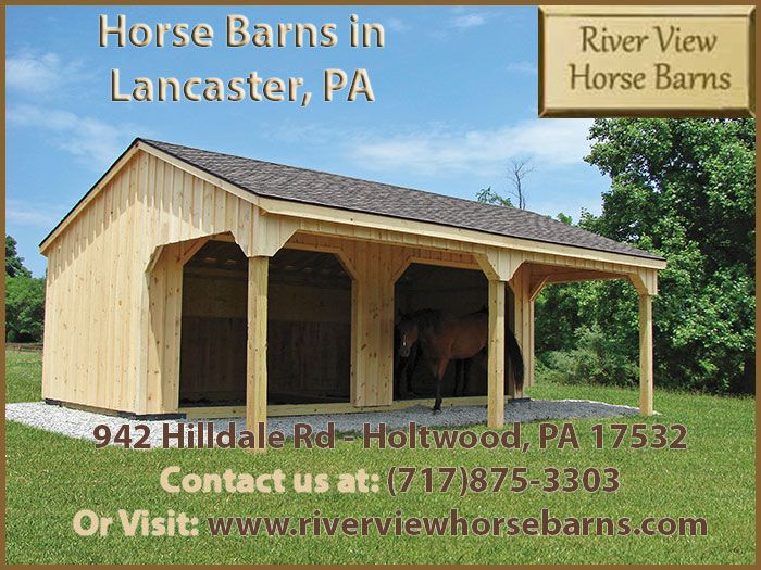 river view horse barns of holtwood pa creates amish style woodmetal sheds and custom