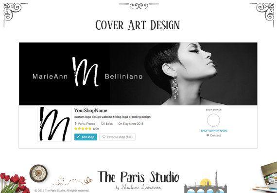Custom Text Header Design Website Header Text by TheParisStudio