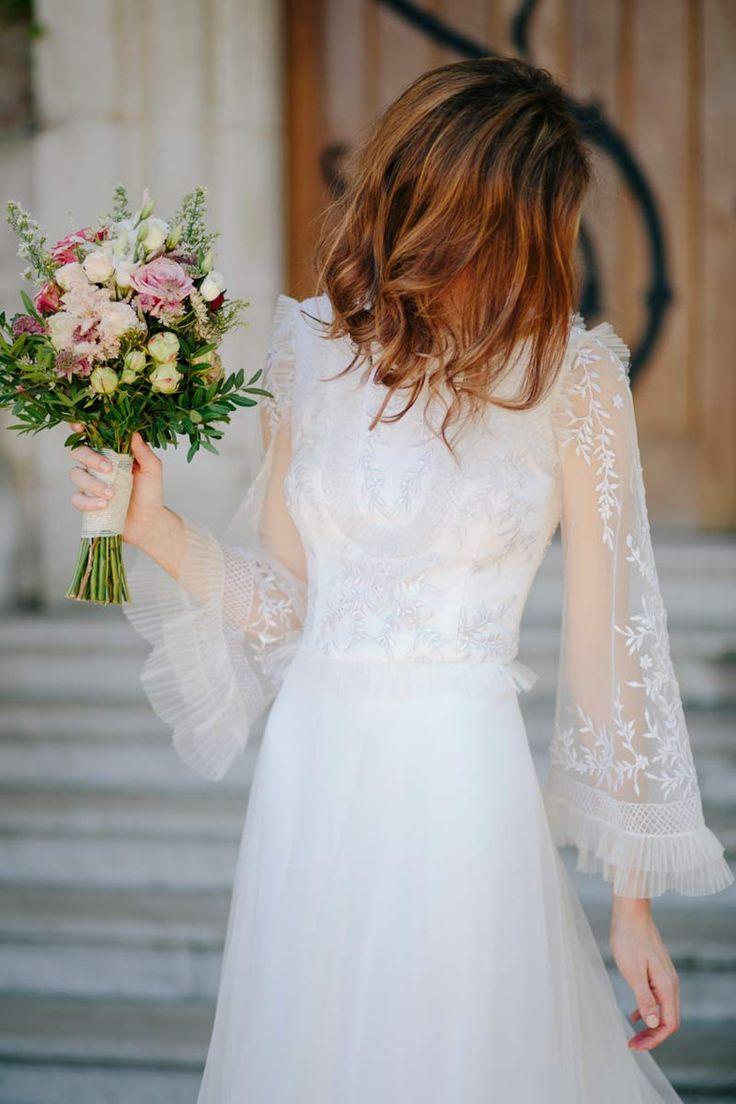 La boda de Mónica y Thomas en Arcangues, Francia © Volvoreta