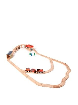 35% OFF Melissa & Doug Swivel Bridge Train Set