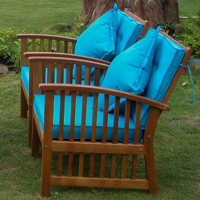 International Caravan Royal Tahiti 2 Piece Phuket Armchair