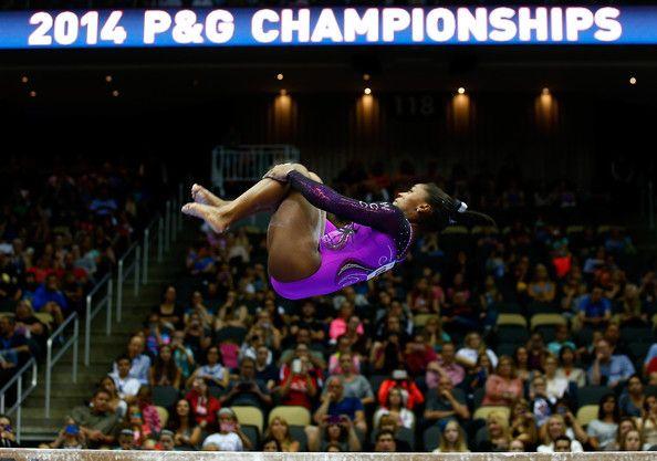 Simone Biles in P&G Gymnastics Championships