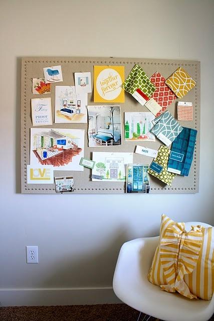 17 best ideas about decorate corkboard on pinterest for Pretty bulletin board