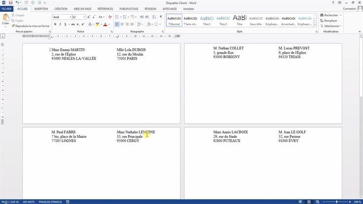 Tutoriel vidéo pour apprendre à créer et imprimer des étiquettes d'adresses directement depuis Access sans publipostage. Comment utiliser l'assistant état étiquettes d'Access ? Comment choisir quels contacts imprimer avec l'assistant état étiquettes d'Access ? Comment créer son propre format d'étiquettes personnalisées Access ?  Pour lire ce tutoriel en version texte, rendez-vous sur Votre Assistante : http://www.votreassistante.net/imprimer-etiquettes-adresses-avec-access