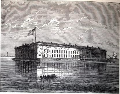 The Battle of Fort Sumter (April 12–14, 1861) was the bombardment and surrender of Fort Sumter, near Charleston, South Carolina, that started the American Civil War