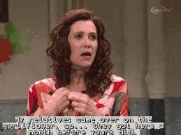 My relatives came over on the Aprilflower, so...they got here a month before yours did. Penelope SNL Kristen Wiig