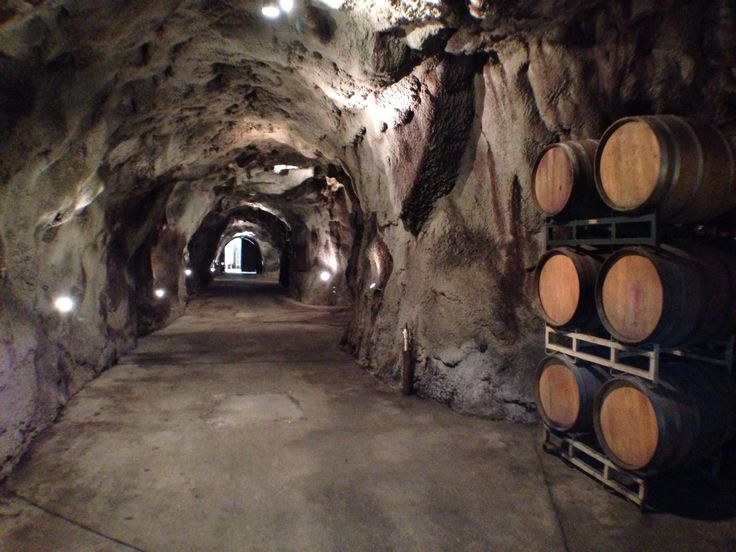 Ironstone winery in the wine cave. My cocktail hour will be here:)