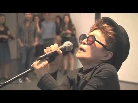 "Yoko Ono's Interpretation of Katy Perry's ""Firework""    WAY BETTER!!"