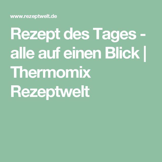 Rezept Des Tages Thermomix
