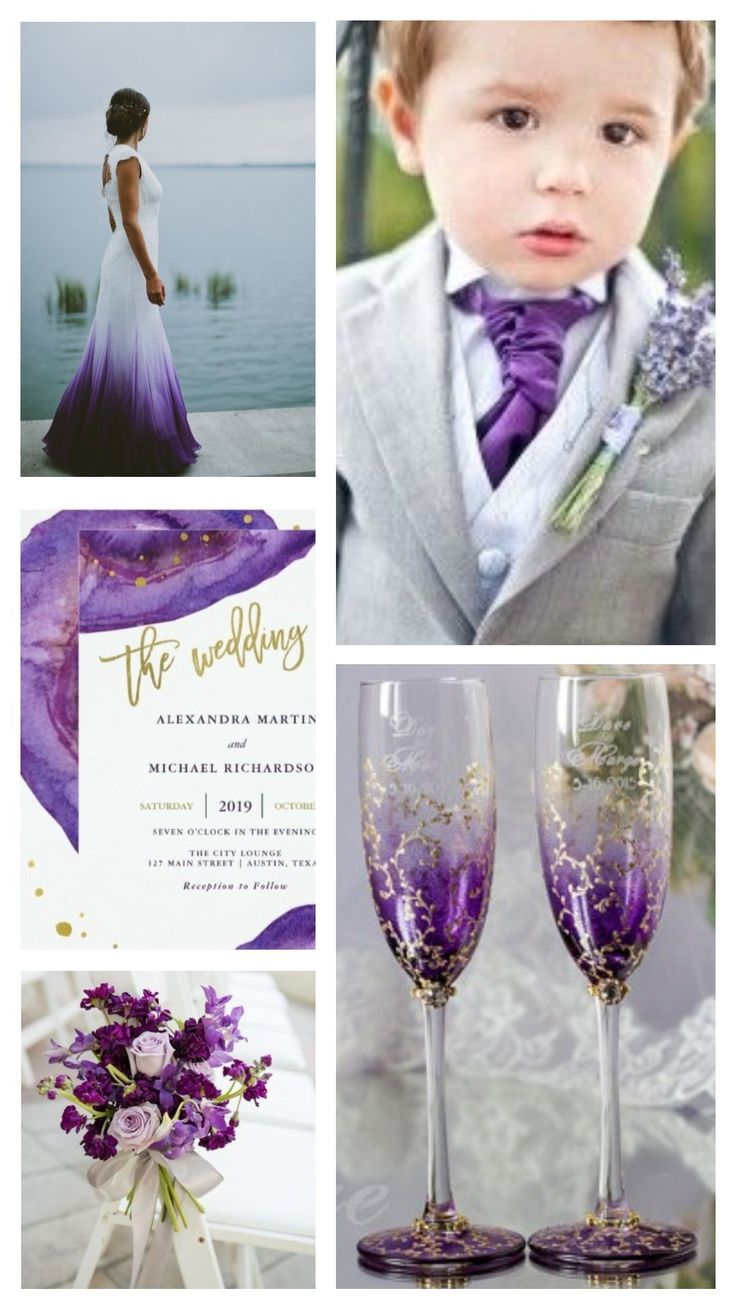 Ultra Violet Wedding Top Ideas. Inventive and imaginative, Ultra Violet lights the way to what is yet to come. ANNOUNCING PANTONE 18-3838 ULTRA VIOLET, PANTONE® COLOR OF THE YEAR 2018.