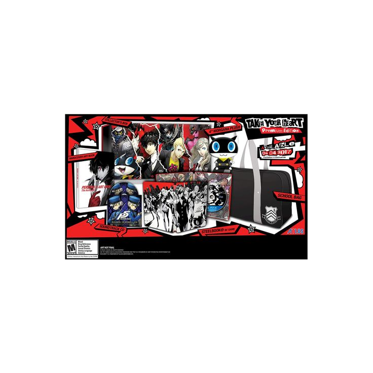 "Persona 5 ""Take Your Heart"" Premium Edition PlayStation 4"