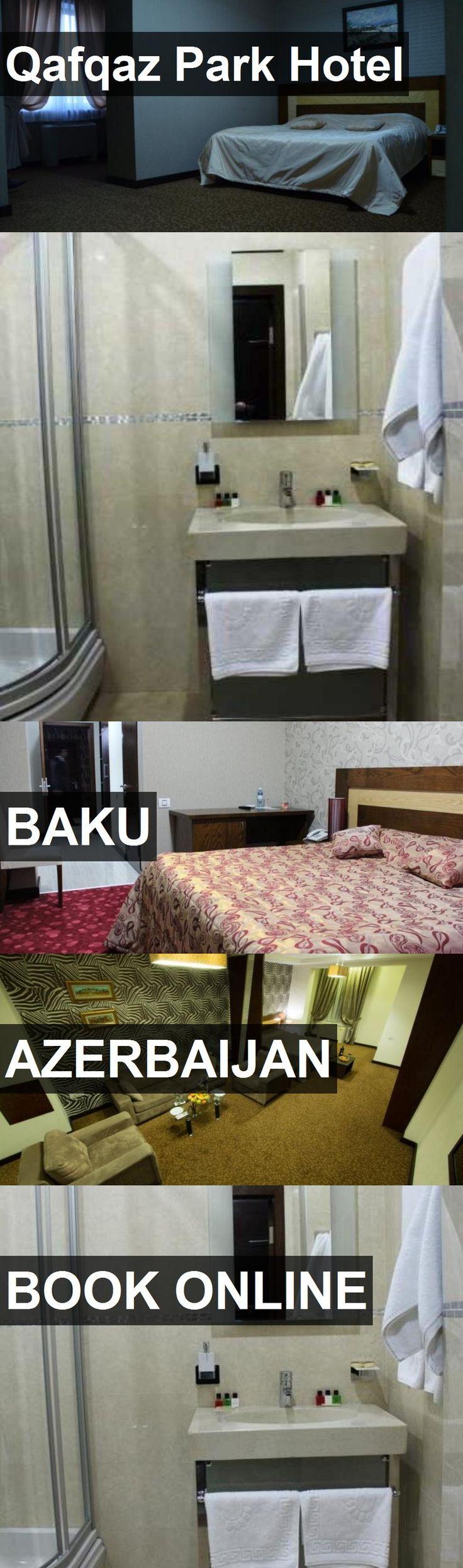 Qafqaz Park Hotel in Baku, Azerbaijan. For more information, photos, reviews and best prices please follow the link. #Azerbaijan #Baku #travel #vacation #hotel