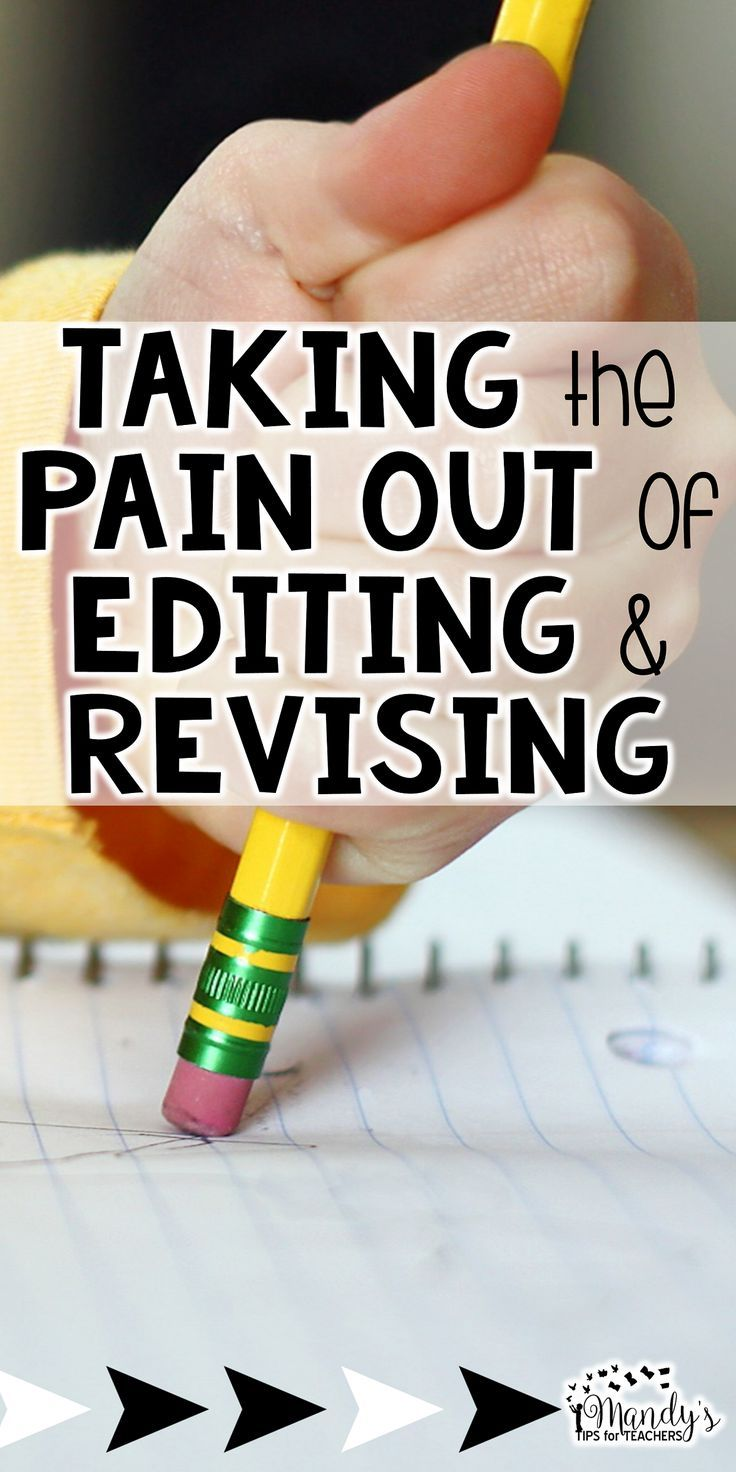 ideas about editing checklist th grade taking the pain out of editing and revising