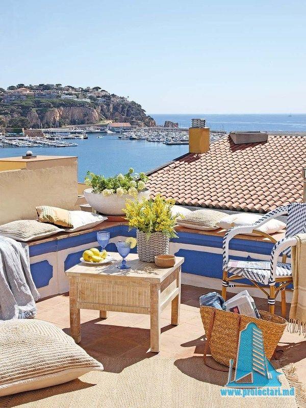 Decor proaspăt, natural și mediteranean