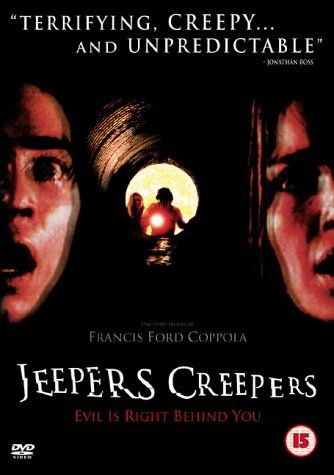 Jeepers Creepers (2001). [R] 90 mins. Starring: Gina Phillips, Justin Long, Jonathan Breck and Eileen Brennan