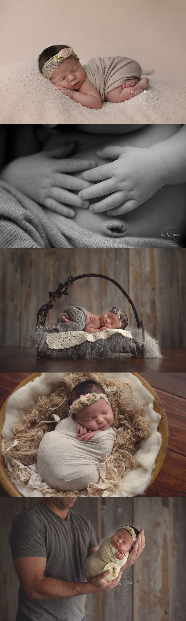 10 day old Josie | Des Moines, Iowa newborn photographer, Darcy Milder | His & Hers