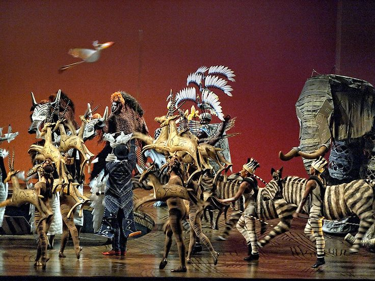 The Lion King Musical- see it if you can!