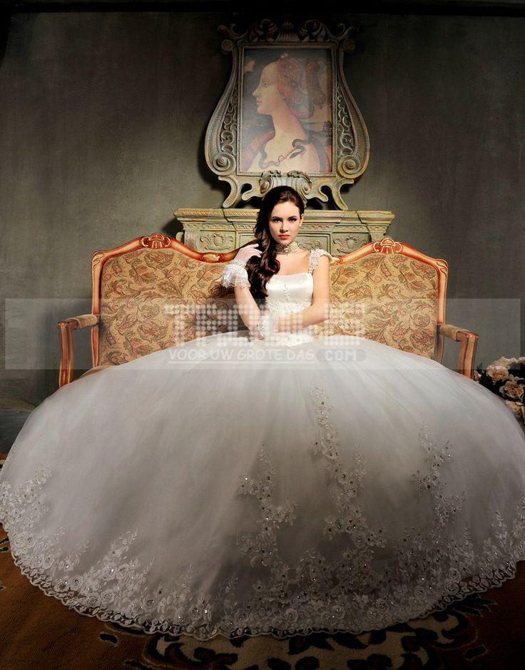 http://www.trouws.com/trouwjurken-c1 Koreaanse stijl van de edele luxe trailing trouwjurk - €203.76 , Trouws.com