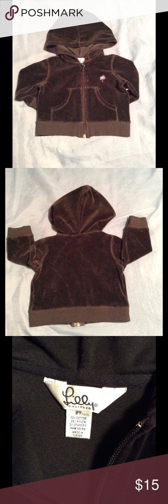Lilly Pulitzer Velour Jacket Cute. Feels Great. Like New. Lilly Pulitzer Jackets & Coats