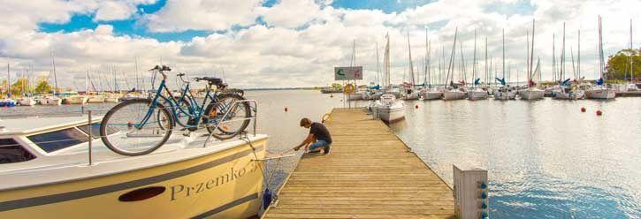Hausboot Charter in Masuren mit Fruehbucherrabatt! #hausboot #hausbootferien #polen #urlaub #masuren