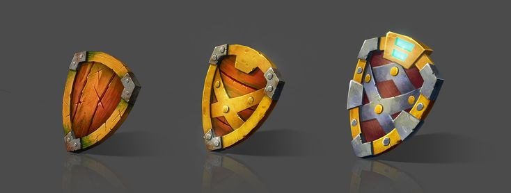 ArtStation - Shields, Yana Blyzniuk