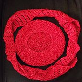 Ravelry: Rastafari Slouch Hybrid Hat pattern by Elizabeth Mareno GORRO CON FOULARD