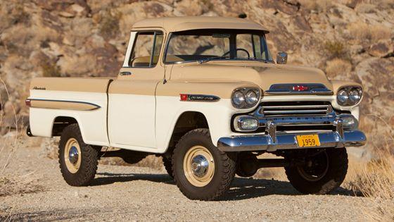 1959 Chevrolet 3100 Apache Fleetside Deluxe pickup