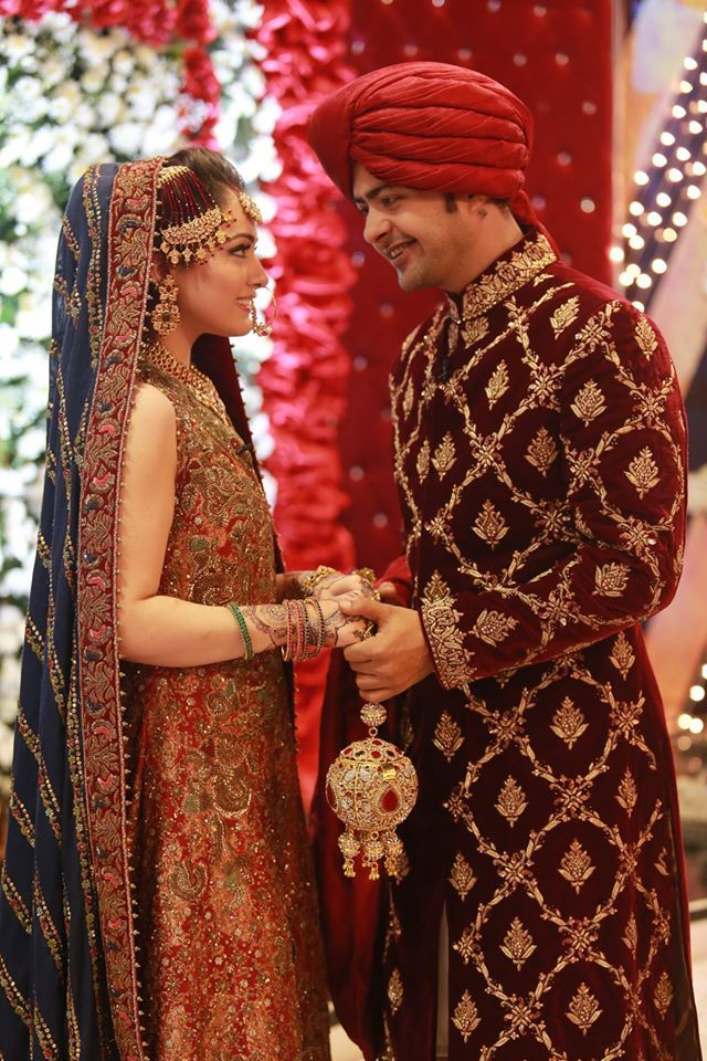 Ahmed Hassan and Nousheen Ismail Grand Wedding in Good Morning Pakistan