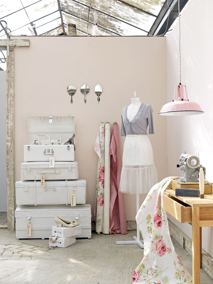 white & light - My sewing room, this is how I want it too look