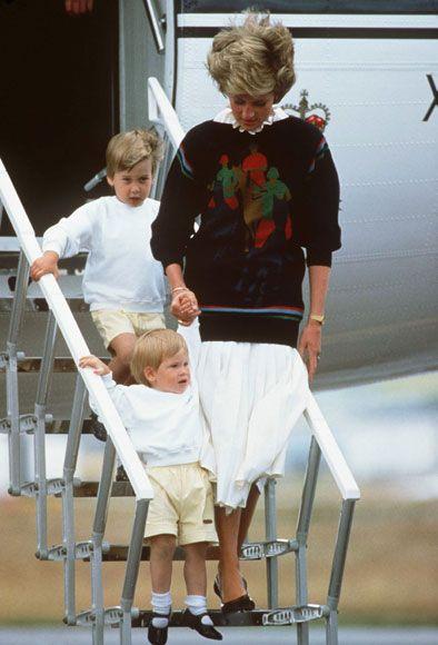 La vena rebelde del príncipe Harry de Inglaterra contada por Lady Di