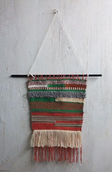Karya Pertama Menenun #WeavingHangingWall